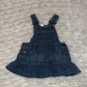 Carters Jean Overall Dress Size 3